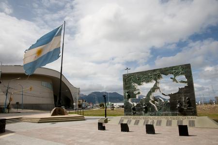 Monument to Malvinas Islands Battle - Ushuaia - Argentina