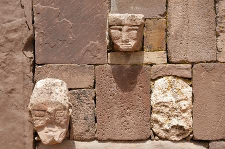 bolivia: Tenon Heads - Tiwanaku - Bolivia
