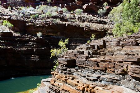 sedimentary: Dales Gorge - Karijini National Park - Australia