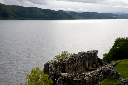 loch ness: Loch Ness - Scotland Stock Photo