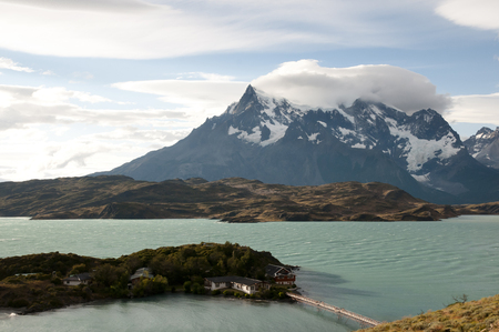 torres del paine: Pehoe Lake - Torres Del Paine National Park - Chile