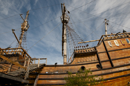 punta arenas: Magellan Replica Ship - Punta Arenas - Chile