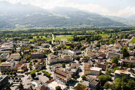 liechtenstein: Vaduz - Liechtenstein Stock Photo