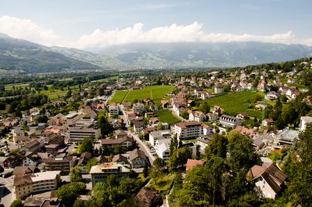 Vaduz - Liechtenstein Stok Fotoğraf