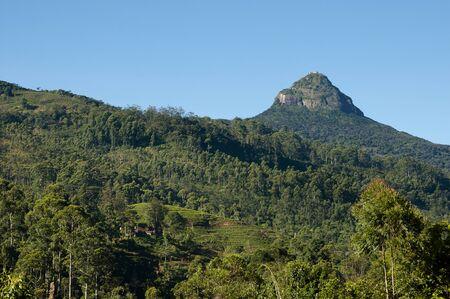 adams: Adams Peak - Sri Lanka Stock Photo