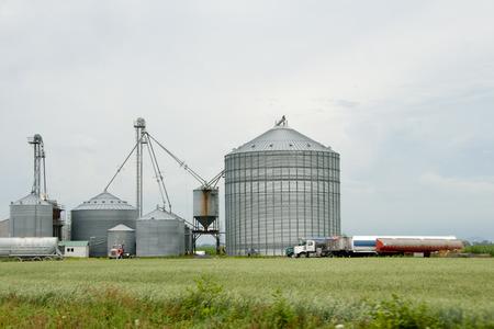 quebec: Farm Silos - Quebec - Canada