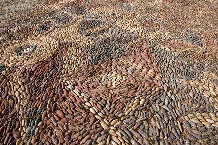 cobble: Old Cobble Pavement - Andahuaylillas - Peru