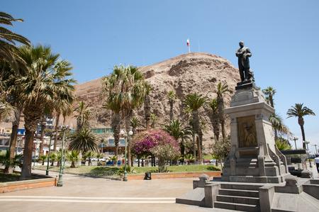 Arica - Chile Stok Fotoğraf