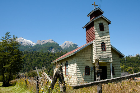 lucia: San Jose Obrero Church - Santa Lucia - Chile