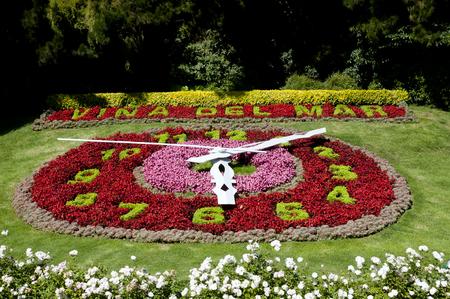 Flower Clock - Vina Del Mar - Chile