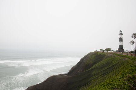 lima: Foggy Coastline - Lima - Peru