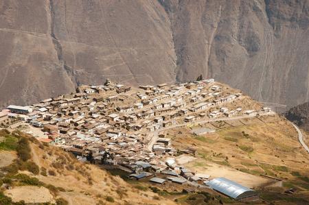san pedro: San Pedro de Casta - Peru Stock Photo