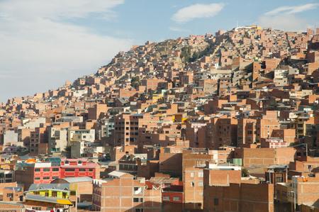 La Paz City - Bolivia Stock Photo