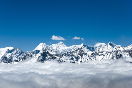 町ラ峠 - ネパールからの眺め 写真素材 - 55641620