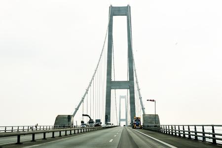 clavados: Road to Great Belt Fixed Link (Storebaeltsbroen) - Denmark