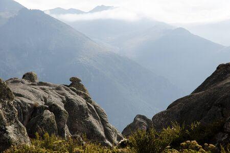 strange mountain: Marcahuasi Stone Forest - Peru