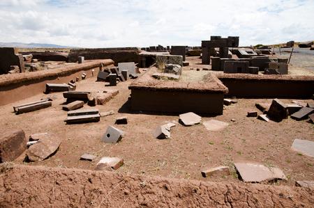 rectilinear: Puma Punku Stone Blocks - Bolivia