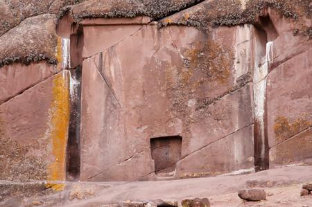 Das Tor der Götter - Peru Standard-Bild