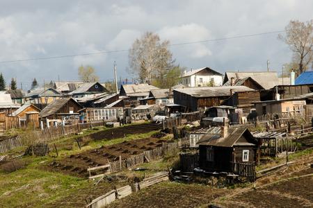 Village in Siberia - Russia