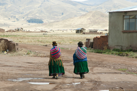 Women in Bowler Hats - La Paz - Bolivia
