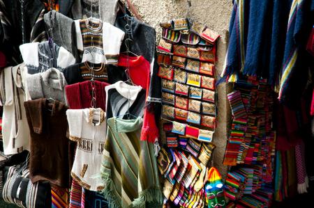 la paz: Traditional Hand Knitted Clothing - La Paz - Bolivia