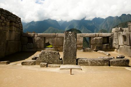 The Temple of the Three Windows  - Machu Picchu - Peru
