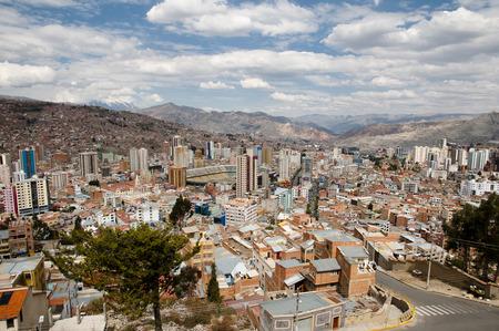 la paz: La Paz City - Bolivia Stock Photo