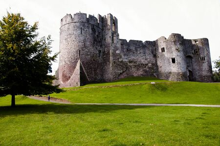 wales: Chepstow Castle - Wales