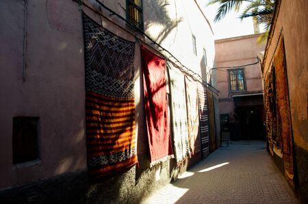 medina: Marrakesh Medina - Morocco Stock Photo