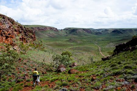 ductile: Geologist Prospecting for Iron Ore - Pilbara - Australia
