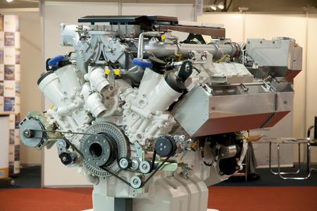 Heavy Duty Diesel Engine Stockfoto