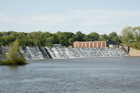 powerstation: Central Power Station of Prairies River - Montreal - Canada