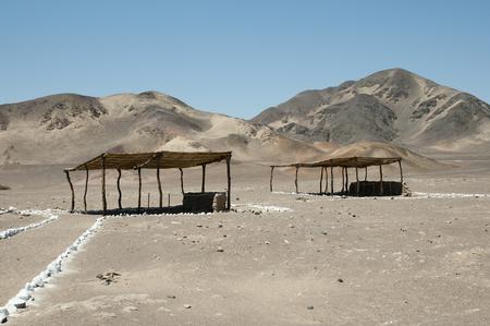 mummified: Chauchilla Cemetery - Peru
