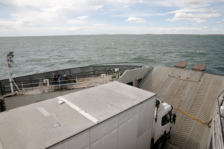 strait of magellan: Ferry Transport - Magellan Strait - Chile