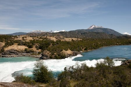 confluence: Confluence of River Baker and River Neff - Chile
