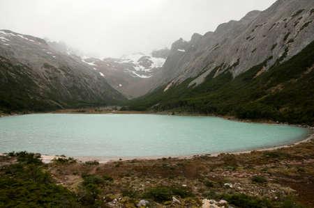 fuego: Emerald Lagoon - Tierra Del Fuego - Argentina