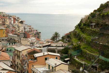 cinque: Corniglia - Cinque Terre - Italy