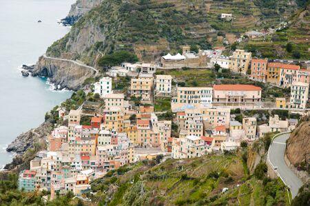 ''cinque terre'': Riomaggiore - Cinque Terre - Italy Stock Photo