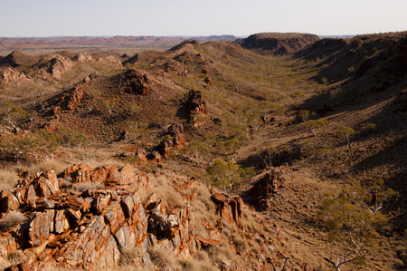 the outback: Iron Ore Rocks - Australian Outback