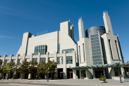 kingston: Joseph Stauffer Library at Queens University - Kingston - Canada