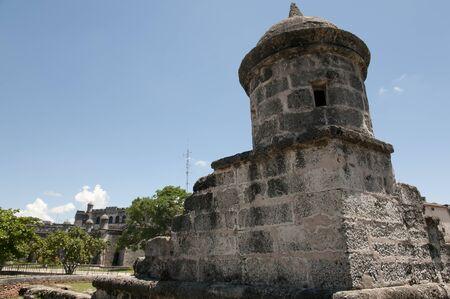 demolish: Old City Wall - Havana - Cuba Stock Photo