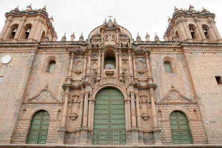 cusco: Santo Domingo Cathedral - Cusco - Peru Stock Photo