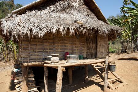 stilt house: Stilt House - Laos