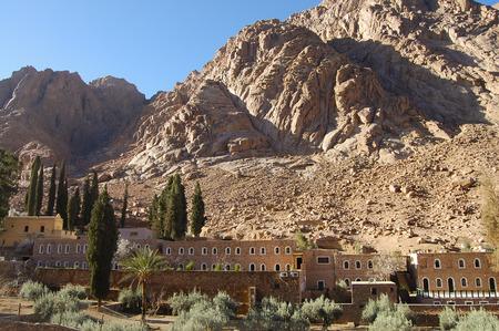 sinai: St Catherines Monastery - Sinai - Egypt Stock Photo