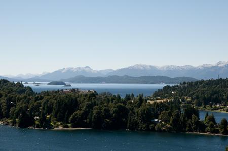nahuel: Nahuel Huapi Lake - Bariloche - Argentina Stock Photo