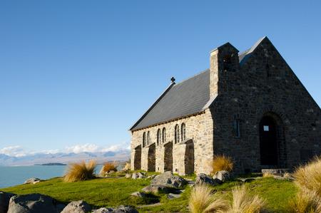 good shepherd: Good Shepherd Church - Lake Tekapo - New Zealand