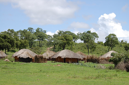 アフリカの小屋 - ザンビア 写真素材 - 60474108