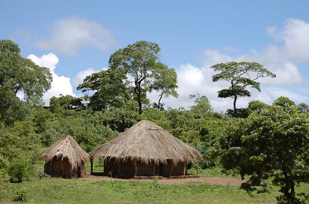 zambia: African Huts - Zambia