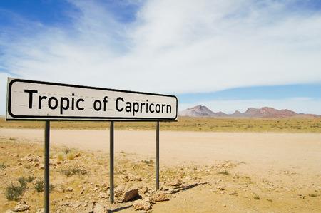 capricornio: Trópico de Capricornio Muestra - Namibia