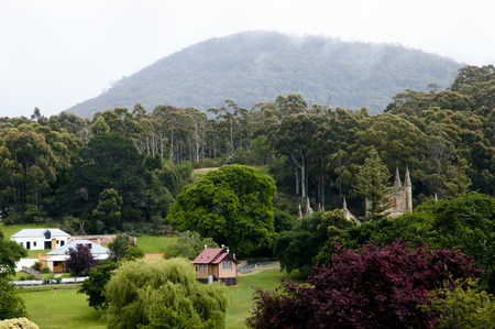 tasmania: Port Arthur Convict Site - Tasmania Stock Photo
